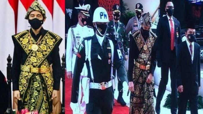 Presiden Jokowi Pakai Baju Adat Suku Sabu Khas NTT di Sidang Tahunan MPR, Ini Filosofi di Baliknya