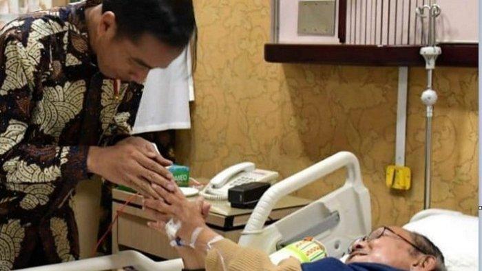BJ Habibie Sakit, Sejumlah Pejabat Besuk di RSPAD, Ada SBY, Nila Moeloek hingga Anies Baswedan!