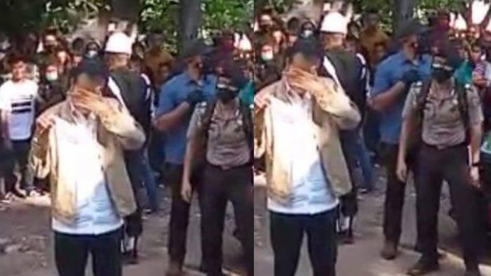 Tangisan Jokowi saat Tinjau Lokasi Bencana di Adonara NTT, 'Air Mata Jatuh', Warga Sempat Histeris