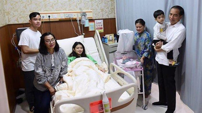 Presiden Jokowi Bahagia atas Kelahiran Cucu Ketiganya, Ini Doa & Harapan untuk La Lembah Manah