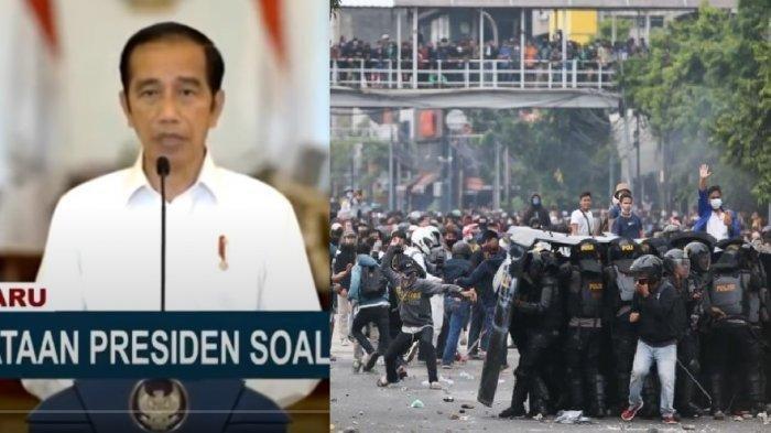 DAFTAR Hoaks yang Dibantah Presiden Jokowi dalam UU Cipta Kerja, soal Upah hingga PHK, Cek Faktanya