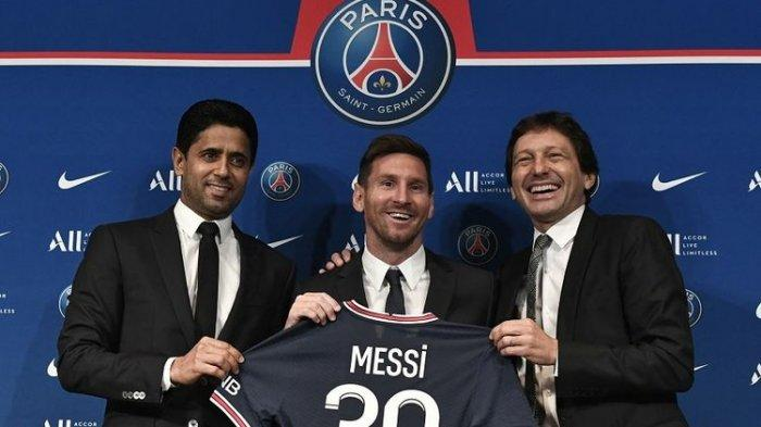 Bocor, Berikut Rincian Gaji 3 Tahun Lionel Messi di PSG, Cristiano Ronaldo Lewat