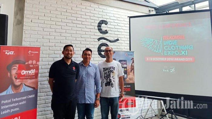 Telkomsel Indie Clothing Expo XI Akan Hadir Sebagai Karya Eksistensi lndustri Kreatif Anak Bangsa