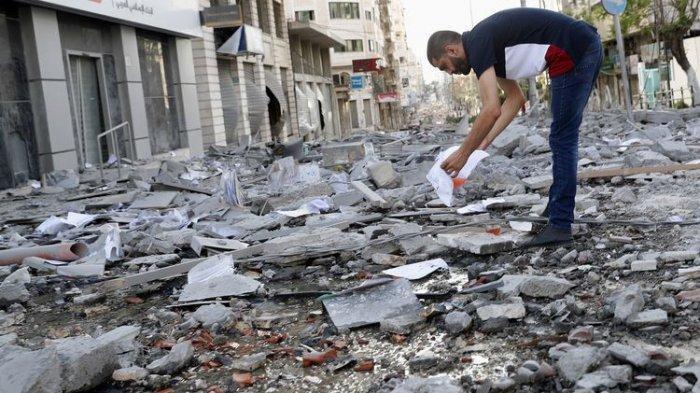 Israel Luluh Lantakkan Lab Utama Covid-19 Gaza, Saksi Syok 'Rudal Menghantam', Panti-Sekolah Rusak