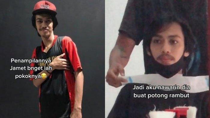 Video Transformasi Cowok 'Tukang Bangunan' Jadi Tampan setelah Potong Rambut Viral, Berubah Drastis!