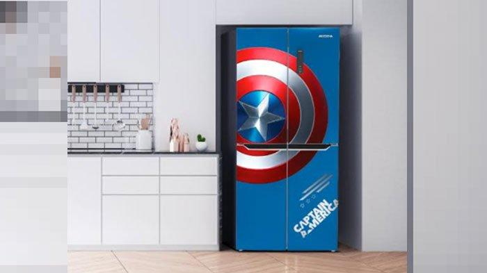 Rayakan 40 Tahun, Modena Luncurkan Produk Edisi Terbatas Marvel, Ada Kulkas Corak Captain America