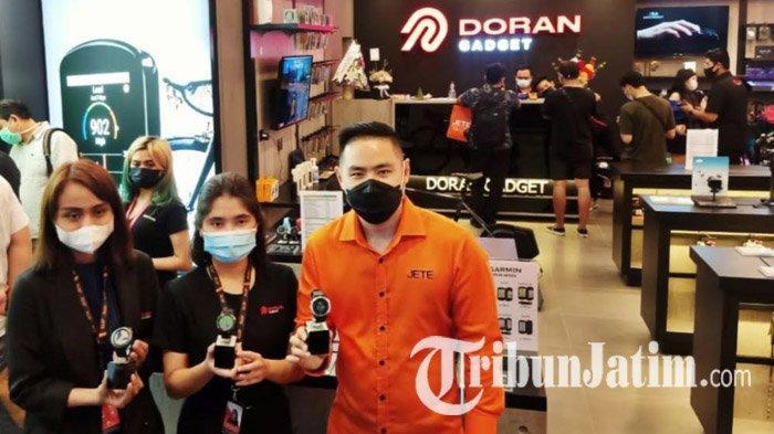 Buka Toko Keempatnya di Pakuwon Mall Surabaya, Doran Gadget Jadikan Brand Garmin Andalan Utama
