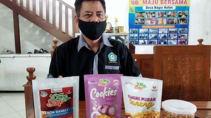 Manfaatkan Lidah Tetangga, UKM Wong Bayu Nganjuk Memproduksi Aneka Camilan Berbahan Bawang Merah