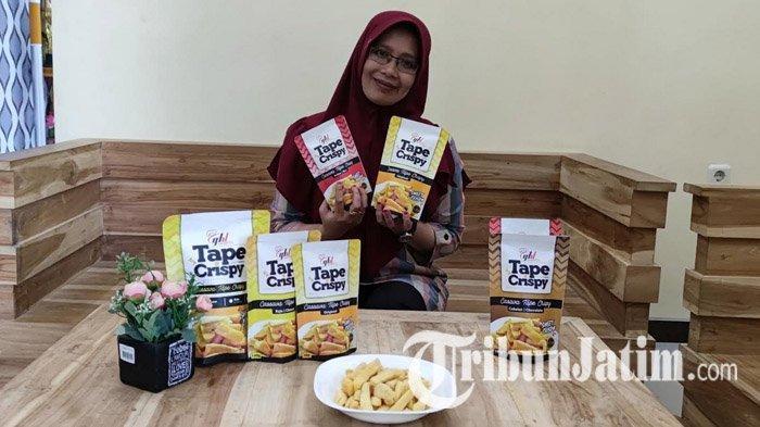 Tape Crispy Beragam Rasa dari Bondowoso Digandrungi Masyarakat Luar Jawa Hingga Negara Tetangga