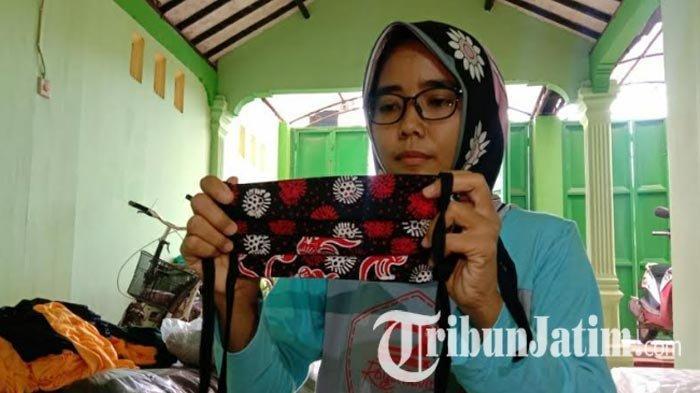 Penjahit Baju di Tuban Banting Setir Produksi Masker Gara-gara Sepi Pesanan, Dampak Pandemi Corona