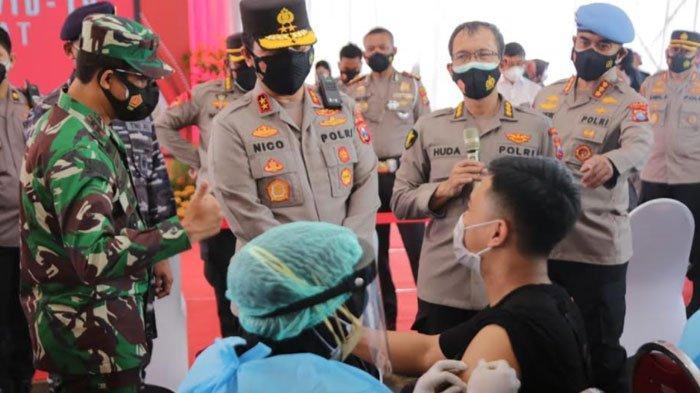 Cerita Warga Surabaya Boyong Keluarga Ikutan Program Satu Juta Vaksin dari Polri