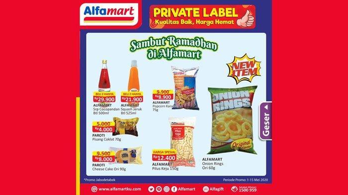 Promo Alfamart Hari Ini hingga 15 Mei 2020, Diskon Minyak Goreng, Susu dan Harga Spesial Lainnya