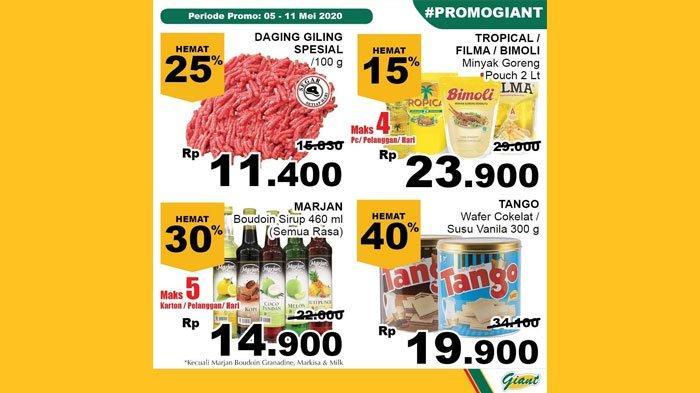 Katalog Promo Giant Hari Ini 11 Mei 2020, Nikmati Potongan Harga Produk Segar hingga Minyak Goreng