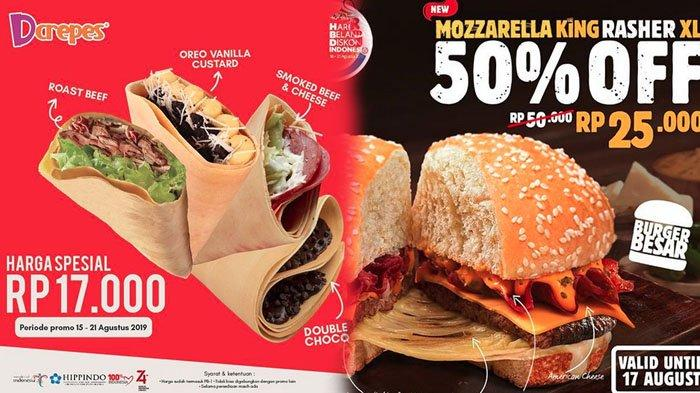 Daftar Promo Hari Kemerdekaan ke-74 RI 17 Agustus: Tiket Nonton, Pizza Hut, KFC hingga Starbucks