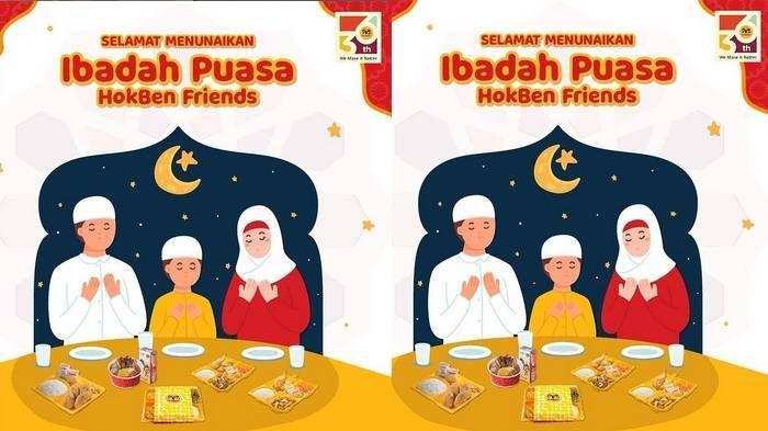 Promo HokBen Bulan Ramadan 2021, Bento Ramadan Rp 55 Ribu untuk Makan Berdua, Super Bowl Rp 33 Ribu