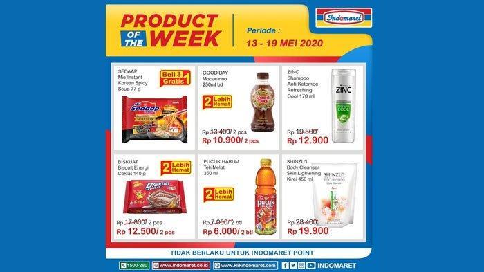 Katalog Promo Indomaret 19 Mei 2020, Hari Ini Terakhir, Promo Product of The Week hingga Promo Heboh