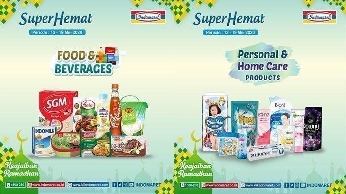 Promo Indomaret Terbaru Edisi 13-19 Mei 2020, Harga Murah Susu dan Sabun hingga Diskon Minyak Goreng