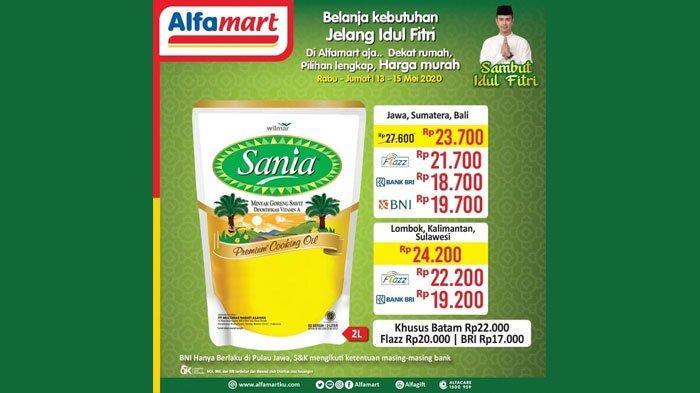 Promo JSM Alfamart 15-17 Mei 2020 Terbaru, Harga Murah Minyak Goreng hingga Diskon Sirup dan Biskuit