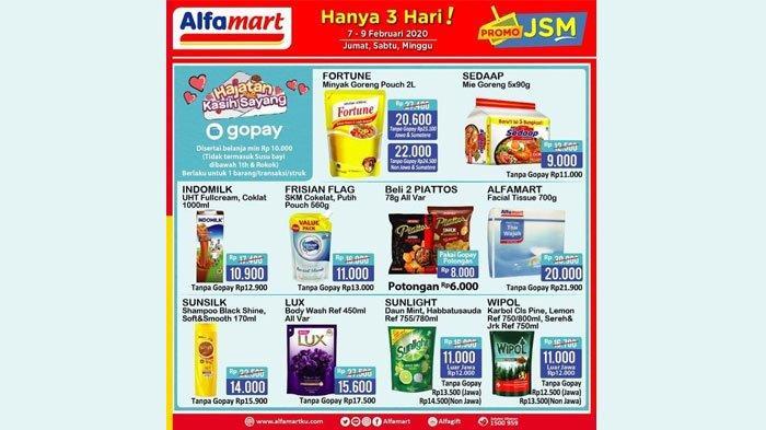 Promo Jsm 7 9 Februari 2020 Di Alfamart Indomaret Alfamidi Superindo Simak Penawaran Spesial Tribun Jatim