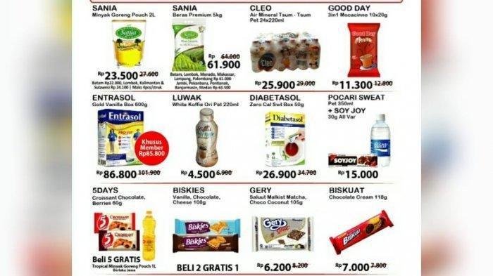 Promo JSM Alfamart Terbaru 12-14 Juni 2020, Belanja Beras, Sabun hingga Minyak Goreng Lebih Murah