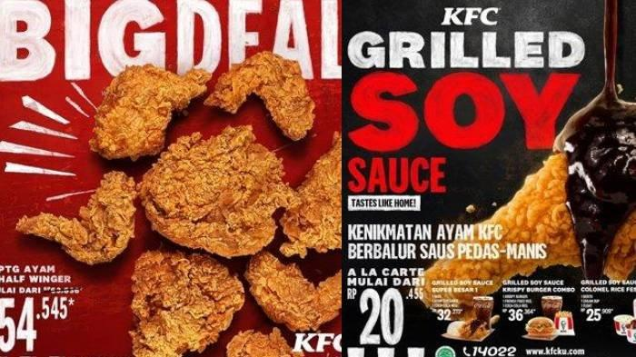 Promo KFC Hari Ini, KFC Big Deal Mulai Rp 54.545, Nikmati Menu Baru KFC Grilled Soy Sauce Chicken!