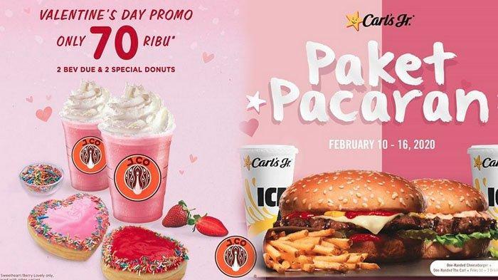 8 Promo Valentine 2020 di Restoran Cepat Saji, dari J.CO, Burger King, KFC hingga McDonald's