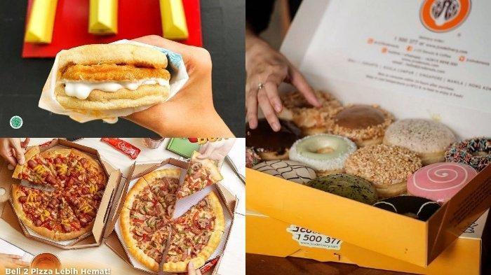 Daftar Promo Delivery #DiRumahAja Bulan April 2020: McD, Pizza Hut, J.CO hingga Burger King