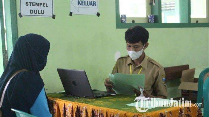 SMP Negeri 1 Ngasem Kabupaten Kediri Gelar PPDB Online Jalur Prestasi dan Afirmasi