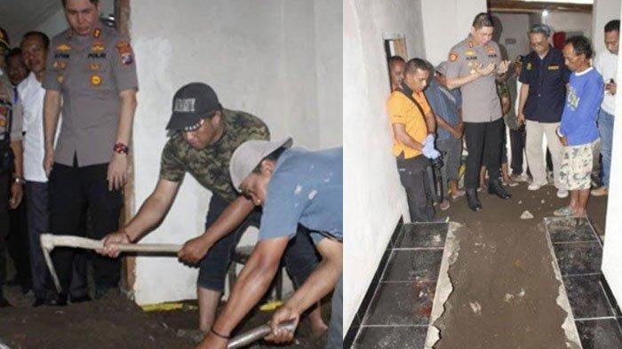 FAKTA Jasad Pria Jember Dicor di Bawah Musala, Istri Surono Nikmati Harta Rp 100 Juta Pasca Dibunuh