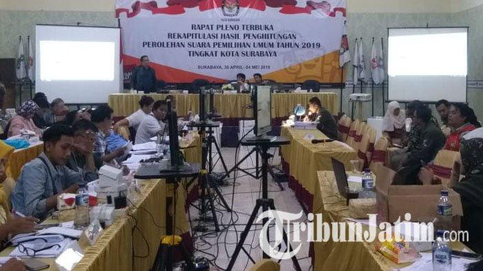 Jalankan Putusan MK, KPU Surabaya Siap Hitung Ulang Suara di Tiga TPS