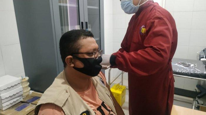 Seluruh Relawan FRPB Pamekasan Divaksin Gratis Pemkab, Cegah Terjadinya Penularan Covid-19