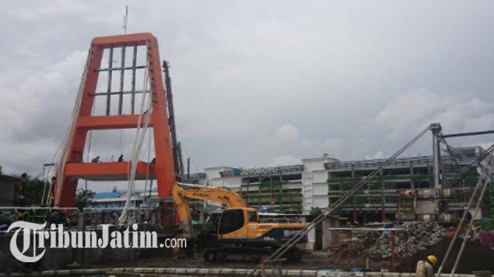 Pengerjaan Jembatan Joyoboyo Rampung Akhir Tahun, Bakal Jadi Jembatan Ikonik Anyar di Surabaya