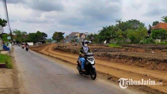 Pembangunan Jalan Baru Tembusan Exit Tol ke Jalan Sulfat di Kota Malang Telah Dimulai