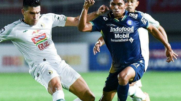PS Sleman Vs Persib Bandung, Skor Imbang 0-0 Hiasi Babak Pertama