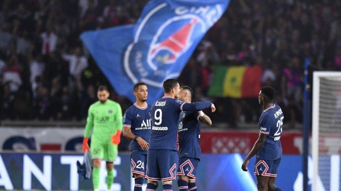 Hasil Liga Prancis PSG Vs Lyon - Lionel Messi Keluar, Les Parisiens Menang