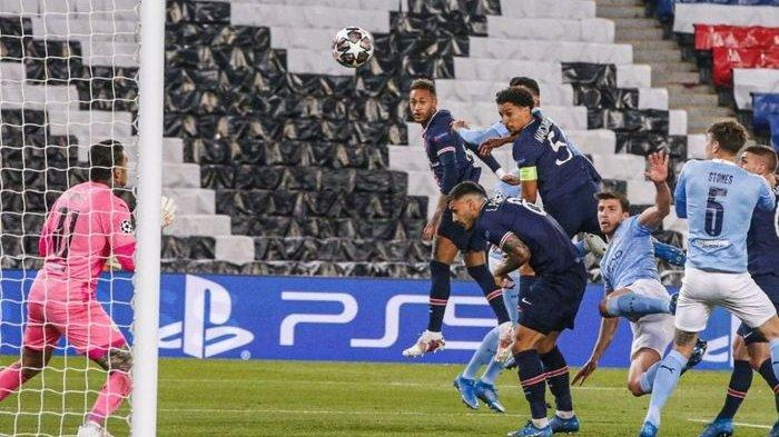 PSG unggul 1-0 atas Manchester City pada babak pertama leg pertama semifinal Liga Champions 2020-2021.