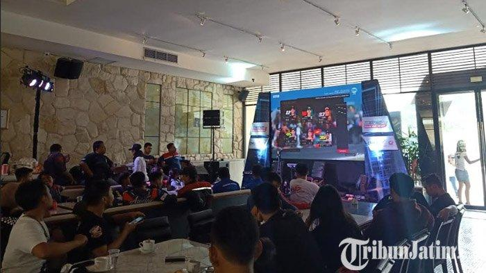 PT Astra Honda Motor Gelar Acara Nobar Moto GP Bersama Para Komunitas Honda CBR di Surabaya