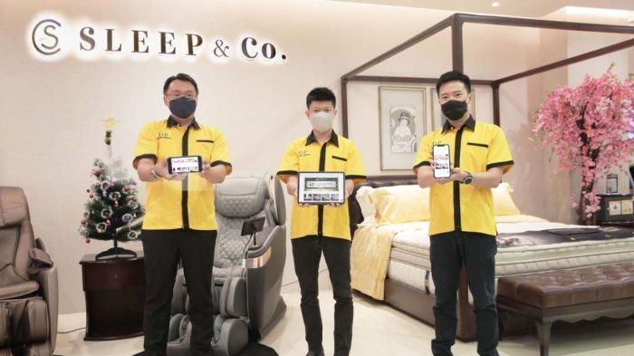 Ingin Konsumen Dapat Matras Sesuai Budget, PT DAP Luncurkan Sleepandco.id dengan Mattress Selector