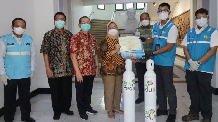 PLN Salurkan Bantuan Oksigen ke Sejumlah RS di Jawa Tengah, Dukung Penanganan Covid-19 Optimal