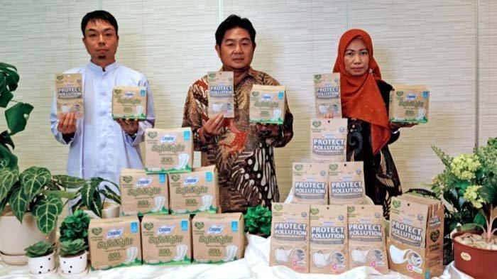 Kurangi Pemakaian Plastik, Uni-Charm Indonesia Rilis Produk Pembalut dan Masker Kemasan Kertas