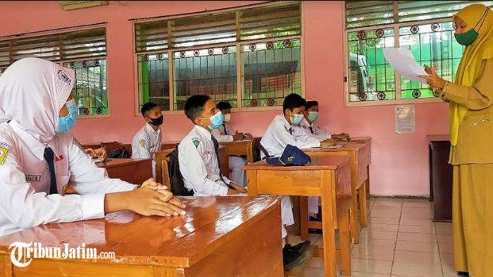 Sekolah TK hingga SMP di Kabupaten Madiun Mulai Pembelajaran Tatap Muka, Pelaksanaan Sesuai Prokes