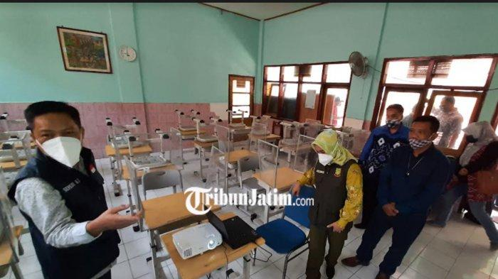 Kota Mojokerto Besok Terapkan PTM di Sekolah SD&SMP;, Kabupaten Mojokerto Belum Siap