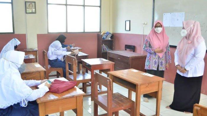 Gresik Mulai PTM, Dispendik Siapkan Gejos untuk Isolasi Siswa yang Terpapar Covid-19 di Sekolah