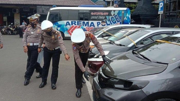 Balap Liar di Jalan Ahmad Yani Kota Malang Disergap Polisi, 65 Kendaraan Diamankan