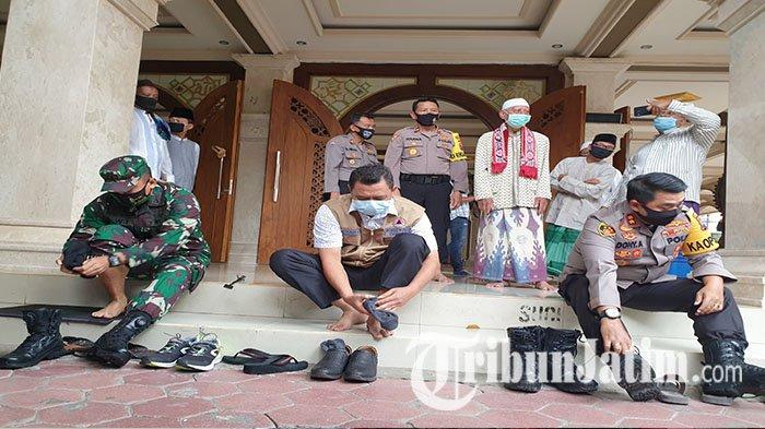 Tempat Ibadah Tangguh di Kabupaten Mojokerto Siap Sambut Tatanan Hidup Baru
