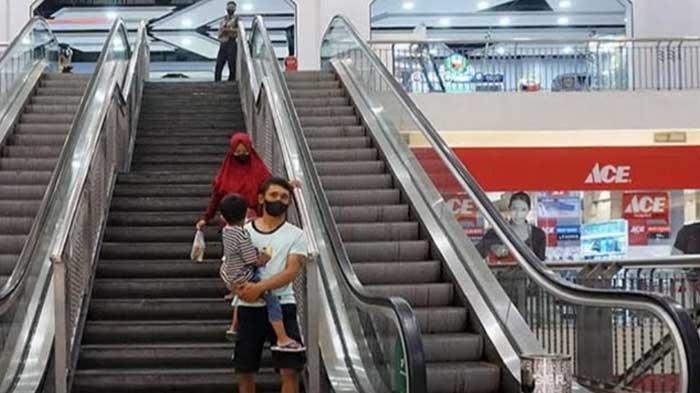 Sudah Buka, Pusat Perbelanjaan di Kota Kediri Wajibkan Pengunjung Gunakan Aplikasi PeduliLindungi