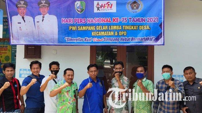 Peringati Hari Pers Nasional ke-75, PWI Sampang Gelar Berbagai Lomba dari Tingkat Desa hingga OPD