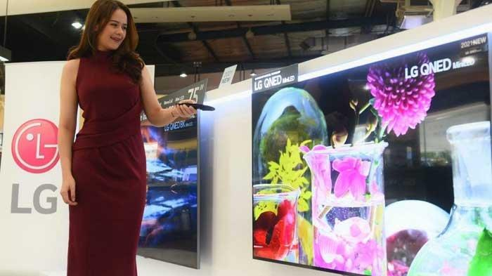 Bawa Tingkatan Baru Inovasi TV LCD, LG Resmi Pasarkan QNED Mini LED TV di Indonesia