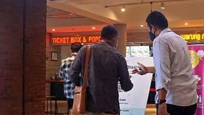 Bioskop di Kota Kediri Terapkan Peduli Lindungi, Ini Solusi Buat yang Tak Punya Smartphone