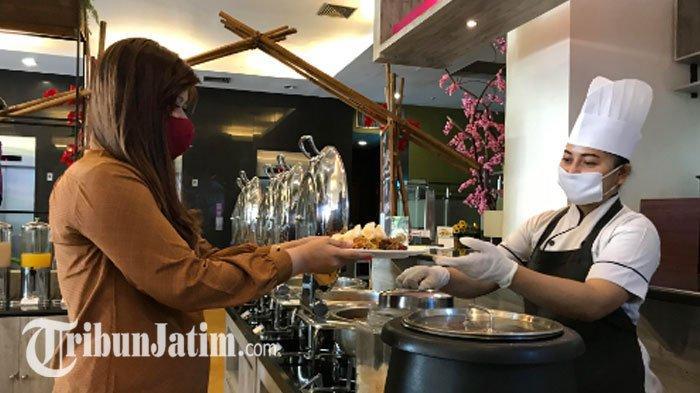 NEWS VIDEO - Quest Hotel Darmo Surabaya Hapus Buffet Self Service, Ada Menu Digital di New Normal